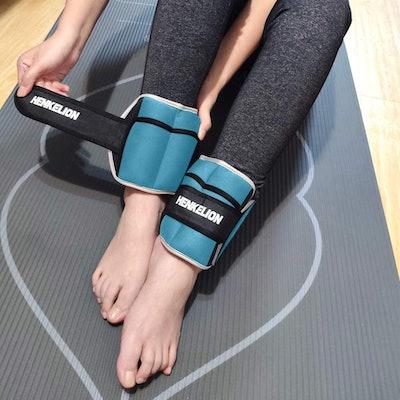 Henkelion Adjustable Ankle Weights