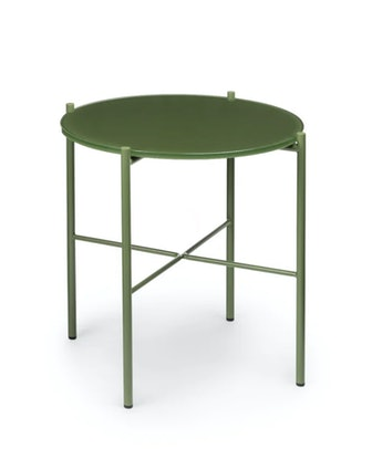 Silicus Green Side Table