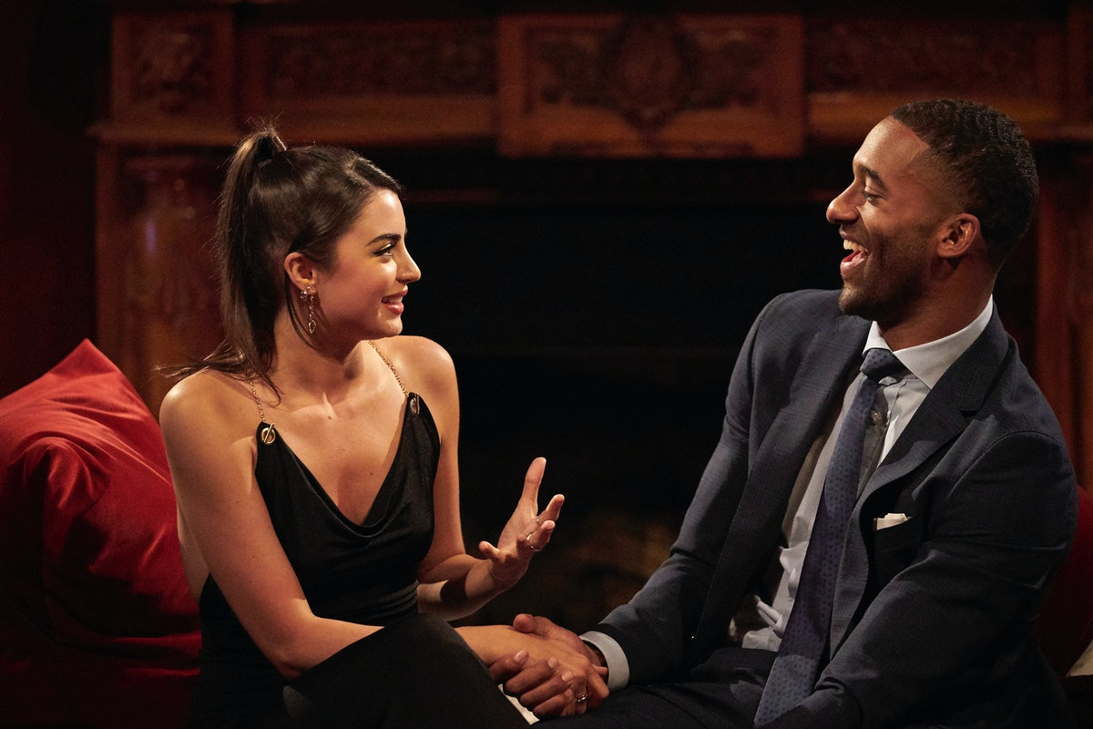 Rachael Kirkconnell and Matt James on Season 25 of 'The Bachelor'