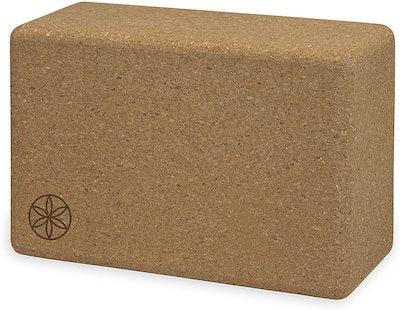Gaiam Cork Yoga Brick Block