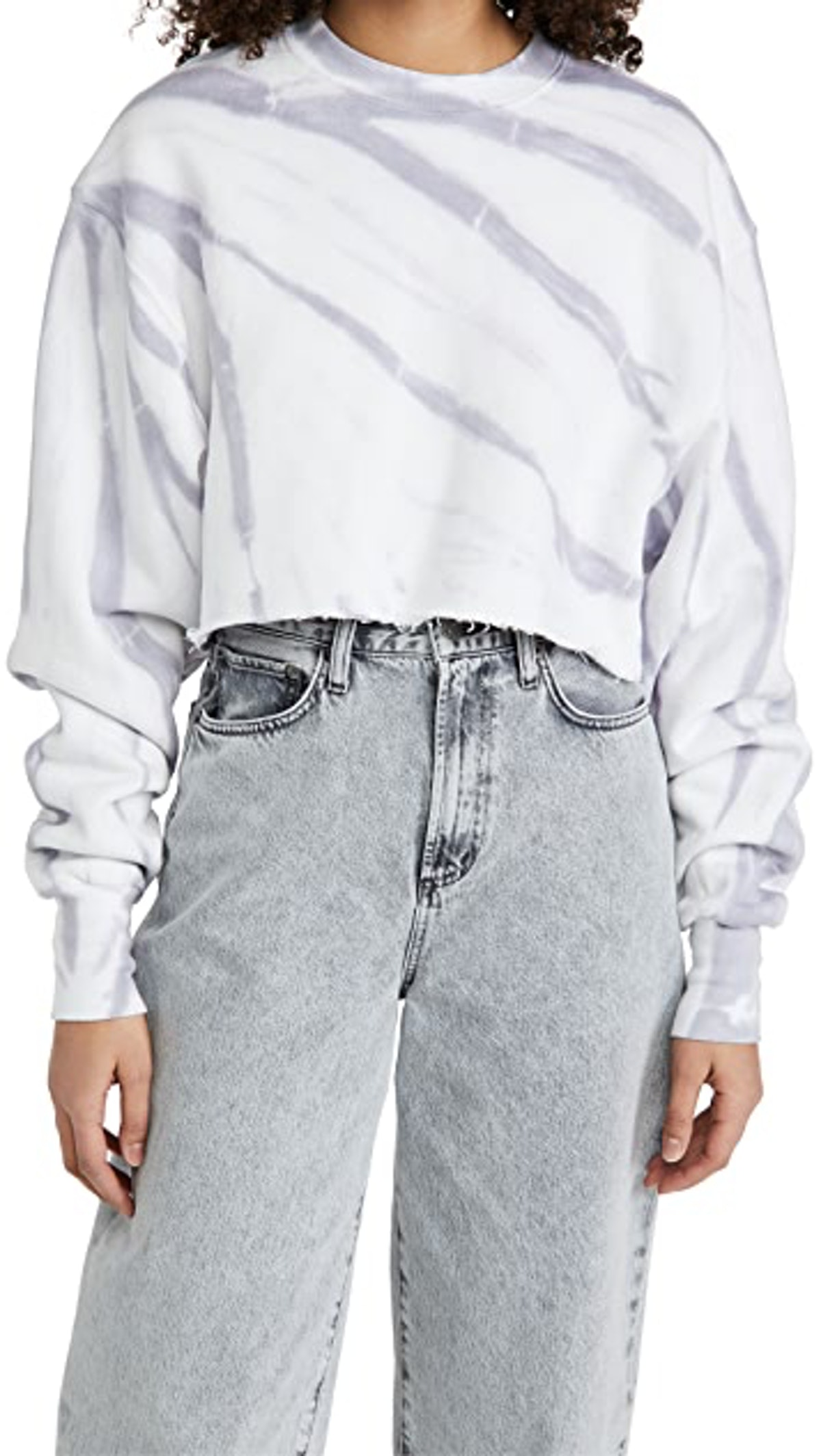 Cropped and Cool Sweatshirt