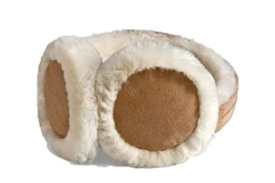 HEAD Earmuffs with Genuine Shearling Sheepskin
