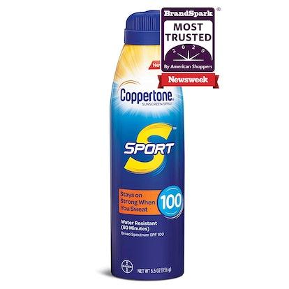 Coppertone SPORT Continuous Sunscreen Spray