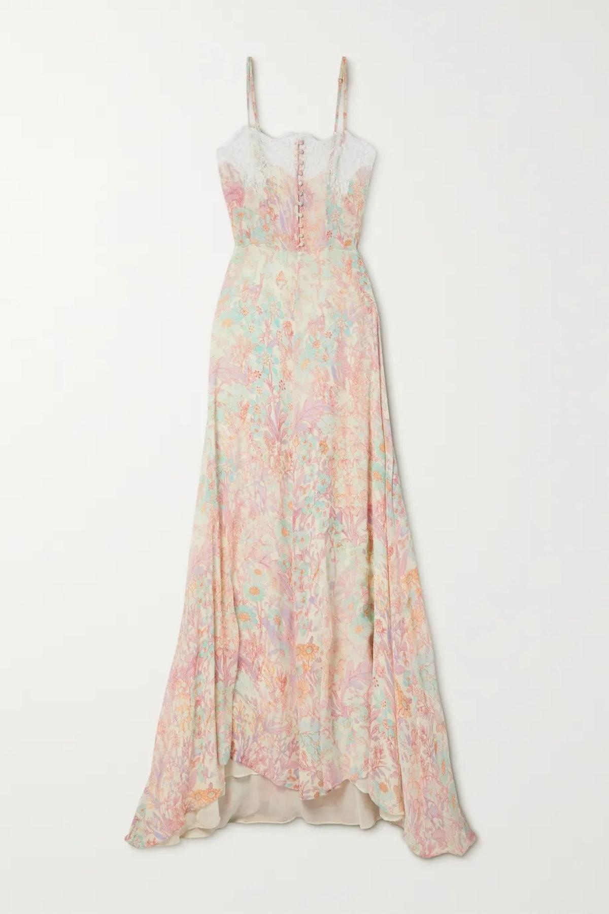 Elma Lace Maxi Dress