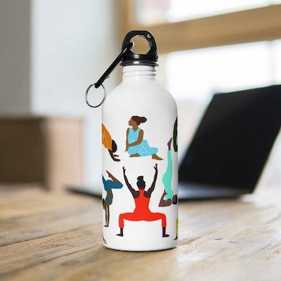 Yoga Women Water Bottle