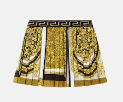 Baracco Mosaic kids print skirt