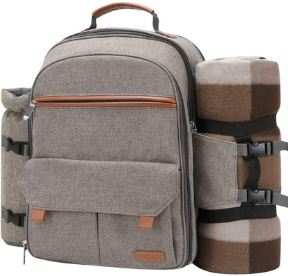 Sunflora Picnic Backpack For 4
