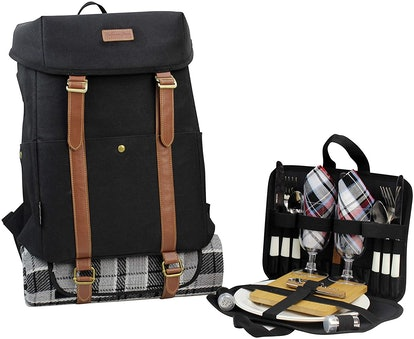 California Picnic All-in-One Picnic Backpack for 2