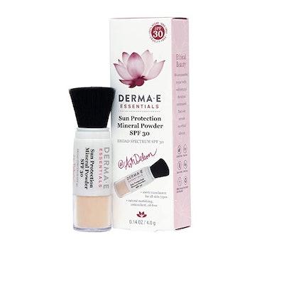 DERMA E Sun Protection Mineral Powder