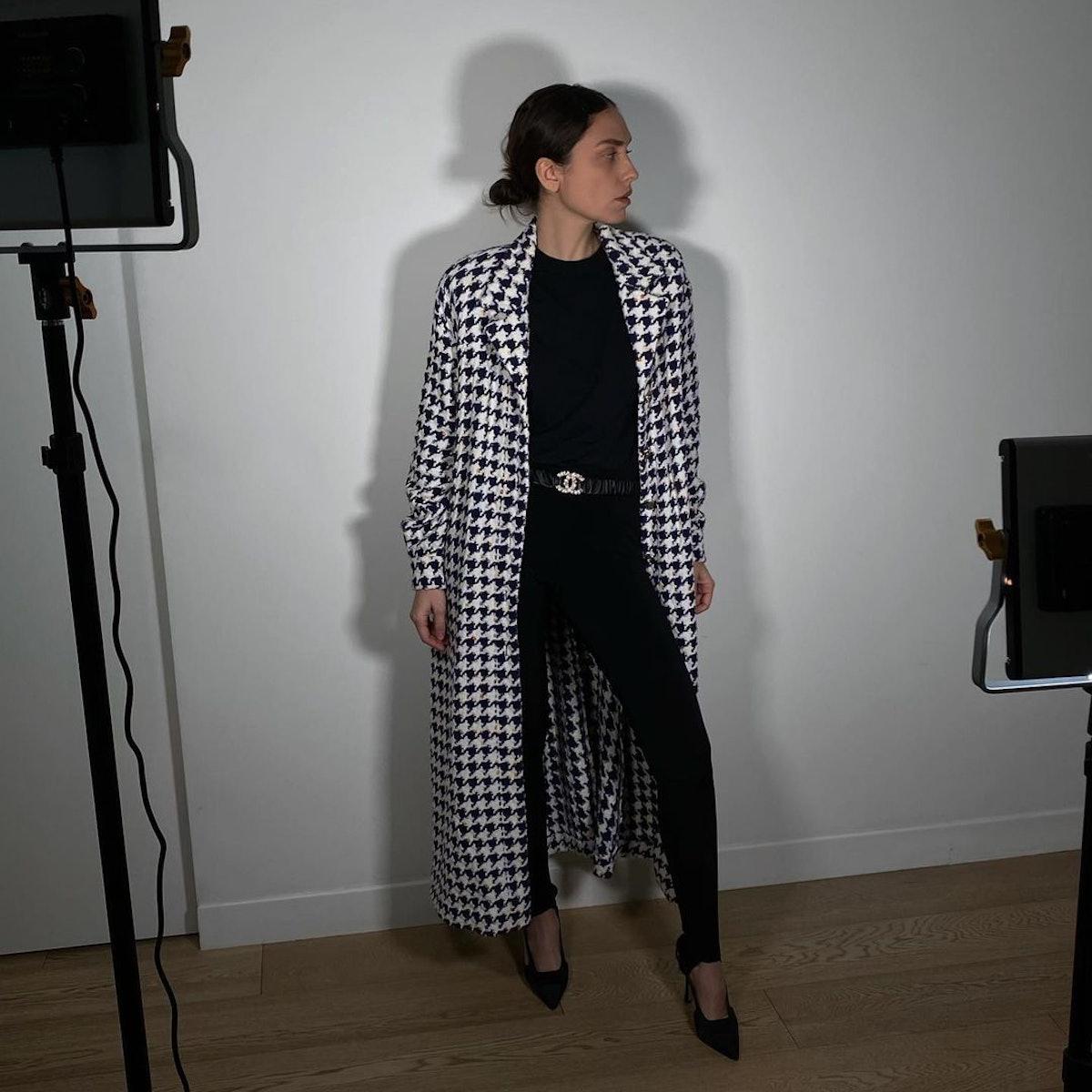Erika Boldrin at home style.