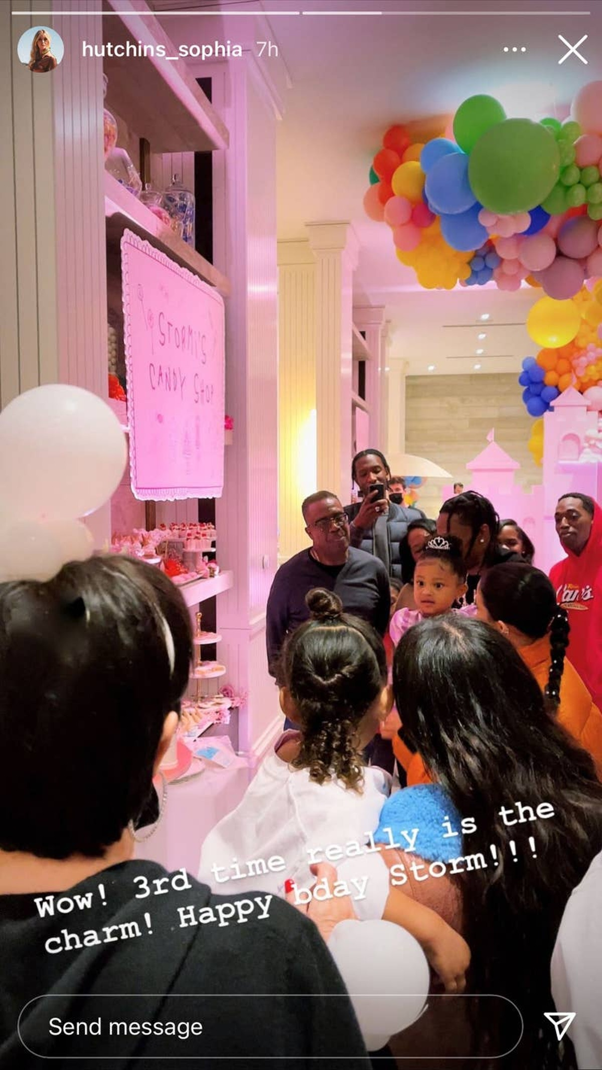 Photos Of Kylie Jenner's Party For Stormi's 3rd Birthday