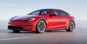 The Model S exterior.