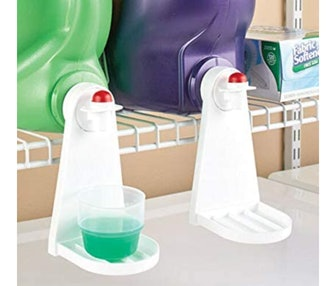 Tidy Cup Laundry Detergent and Fabric Softener Catcher (2-Pack)