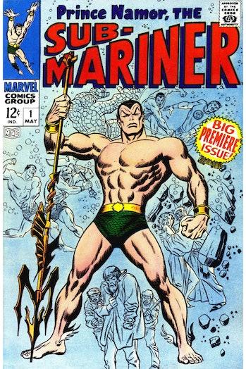 Wakanda series endgame namor sub-mariner