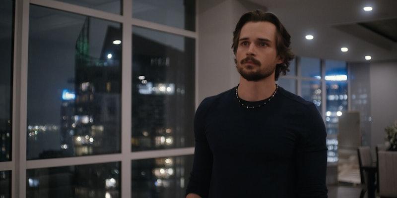 Jon-Michael Ecker playing Max on 'Firefly Lane' via the Netflix press site