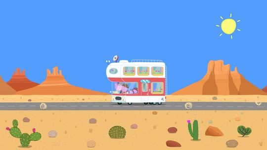 'Peppa Pig' is traveling across America in a motorhome in new special.