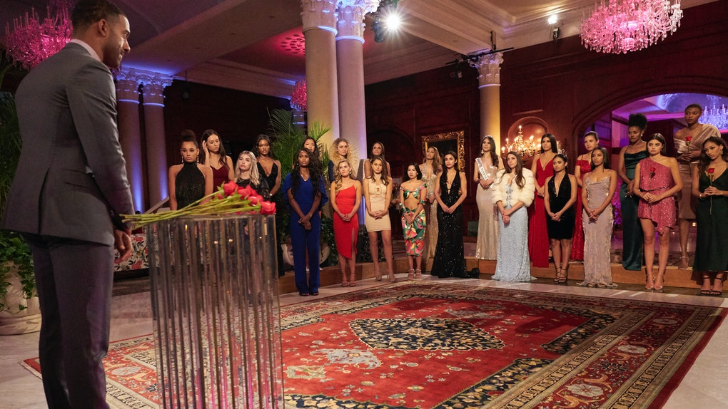 Rose ceremony eliminations showcasing who goes home on Matt's 'Bachelor' Week 5