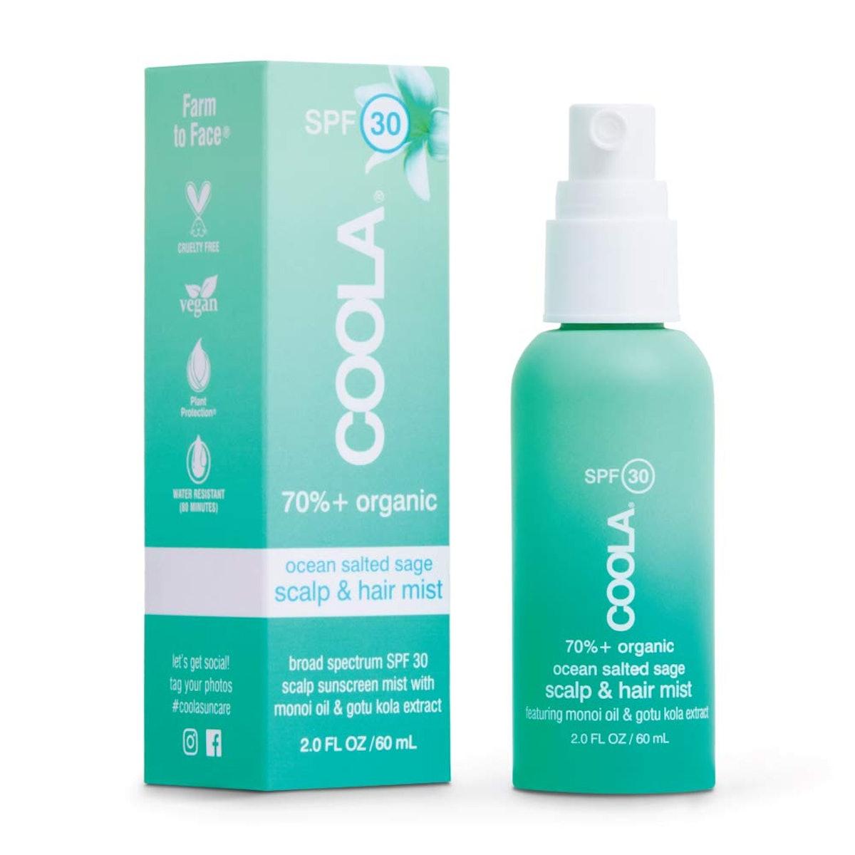 COOLA Organic Scalp & Hair Sunscreen Mist