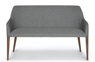Feast Gravel Gray Dining Bench
