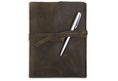 Moonster Refillable Leather Journal Gift Set