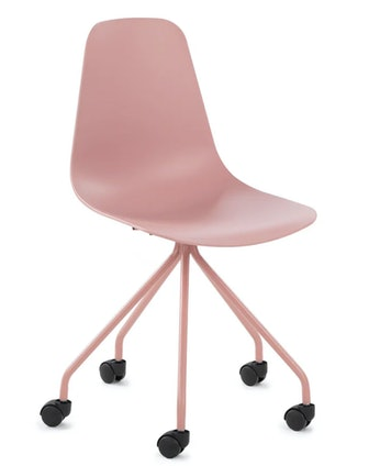 Svelti Dusty Pink Office Chair