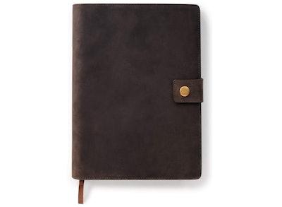 CASE ELEGANCE Full- Grain Premium Leather Journal Cover