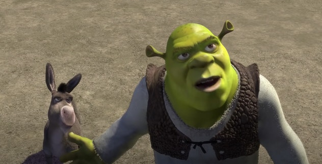 Shrek is the ultimate romantic hero.
