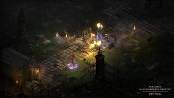 Diablo 2 new graphics