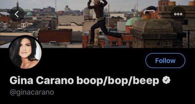 Gina Carano stan twitter #FireGinaCarano