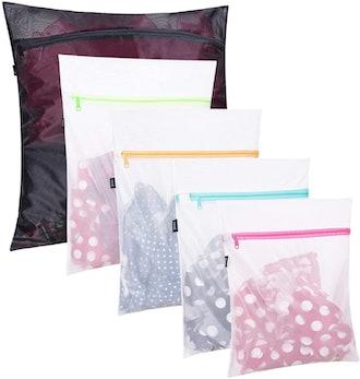 BAGAIL Mesh Laundry Bag ( Set of 5)