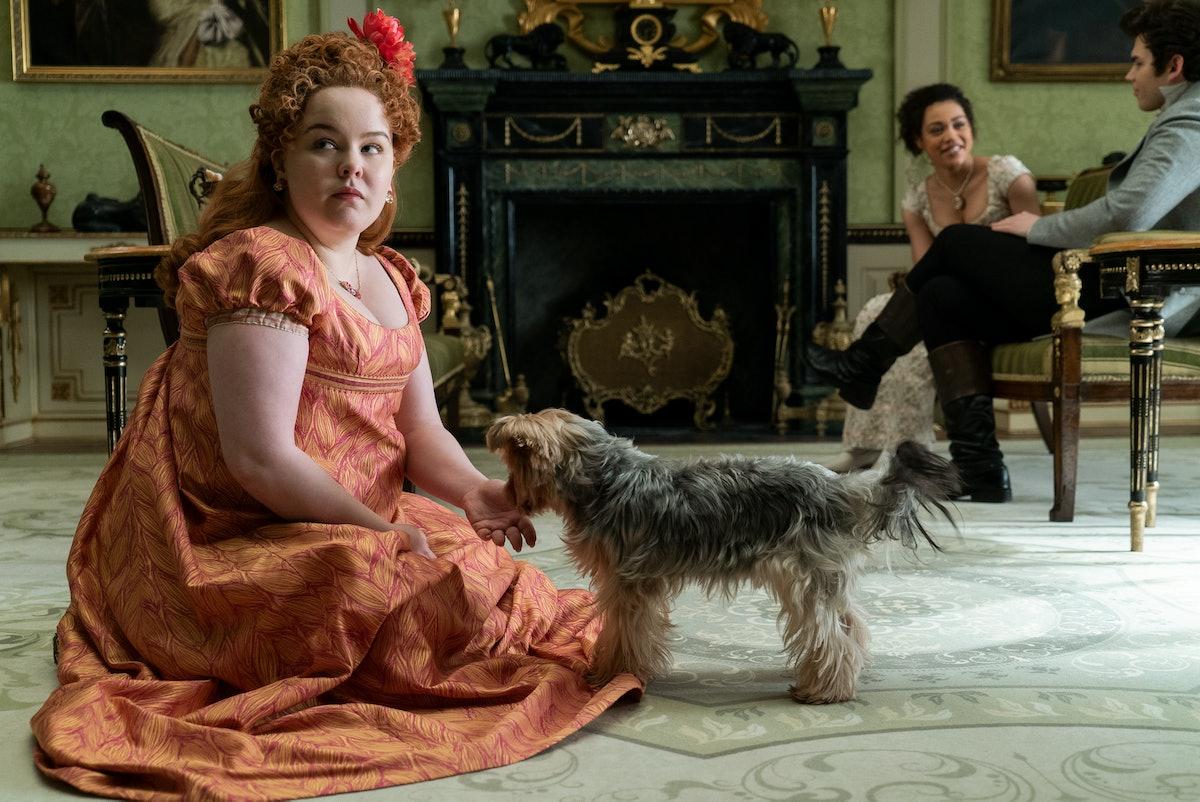 Nicola Coughlan as Penelope in Bridgerton.