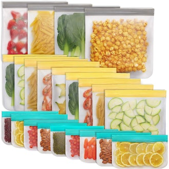Jagrom Reusable Food Storage Bags (22-Pack)
