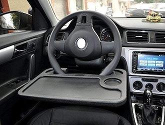 Cutequeen Car Steering Wheel Desk