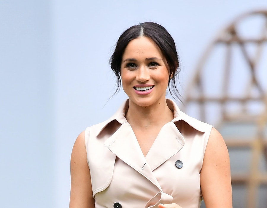 Meghan, Duchess of Sussex visits the British High Commissioner's residence to attend an afternoon reception to celebrate the UK and South Africa's important business and investment relationship, looking ahead to the Africa Investment Summit the UK will host in 2020. This is part of the Duke and Duchess of Sussex's royal tour to South Africa. on October 02, 2019 in Johannesburg, South Africa.