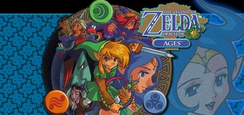 the legend of zelda oracle of ages seasons promo art