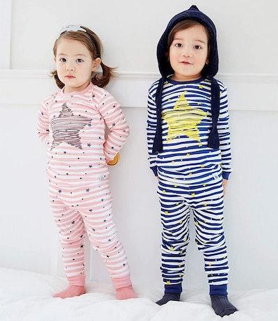 VAENAIT BABY Toddler Snug Fit Sleepwear (2 Pieces)