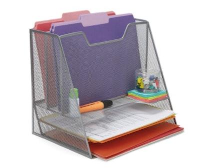 Three-Tiered Desk Organizer Tray