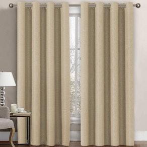 H.VERSAILTEX Thermal-Insulating Linen Curtains
