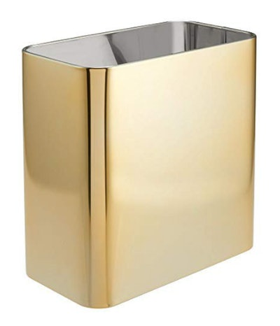 Rectangular Metal Small Trash Can