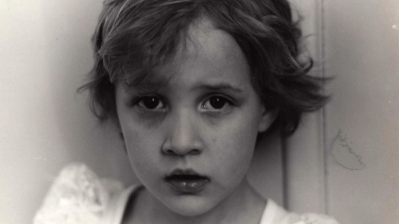 A childhood photo of Dylan Farrow from HBO's 'Allen v. Farrow' via the Warner Media press site