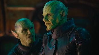 Ben Mendelsohn as the Skrull Talos in Captain Marvel