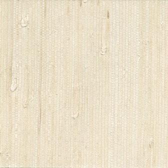 Martina White Grasscloth Peelable Roll