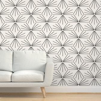 Sun Tile Large Wallpaper by Holli Sollinger