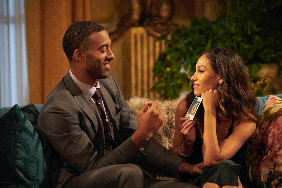 Matt James and Serena Pitt on Season 25 of 'The Bachelor'