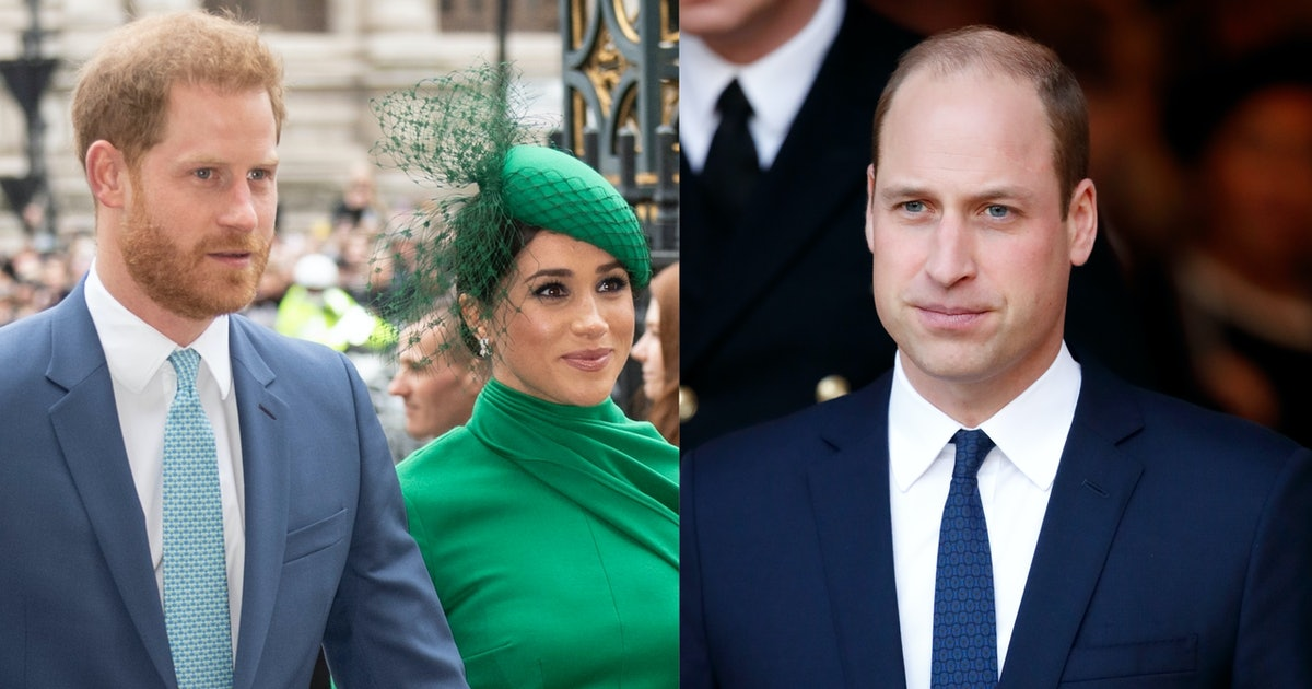 """William Reportedly Thinks Meghan & Harry Were """"Disrespectful"""" To The Queen & I Cannot"""