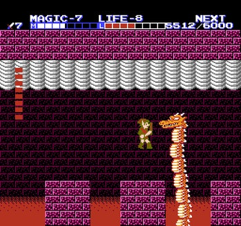 zelda 2 adventure of link boss dragon