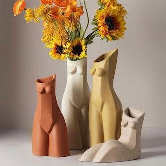 Modern Body Vase