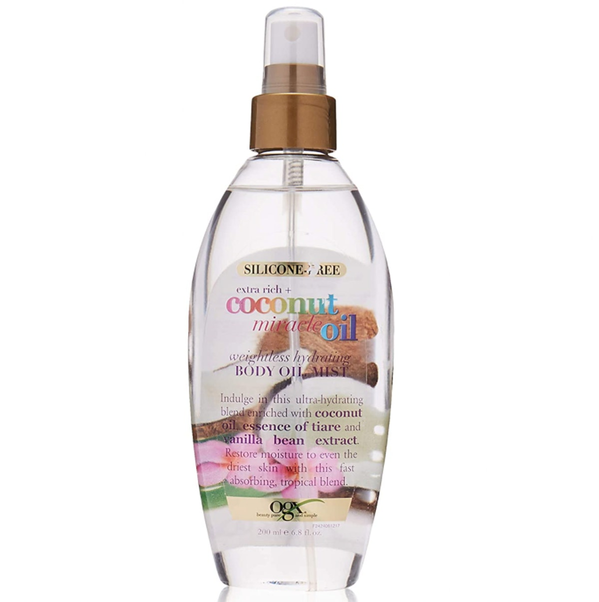 OGX Extra Rich + Coconut Miracle Oil Weightless Hydrating Body Oil Mist