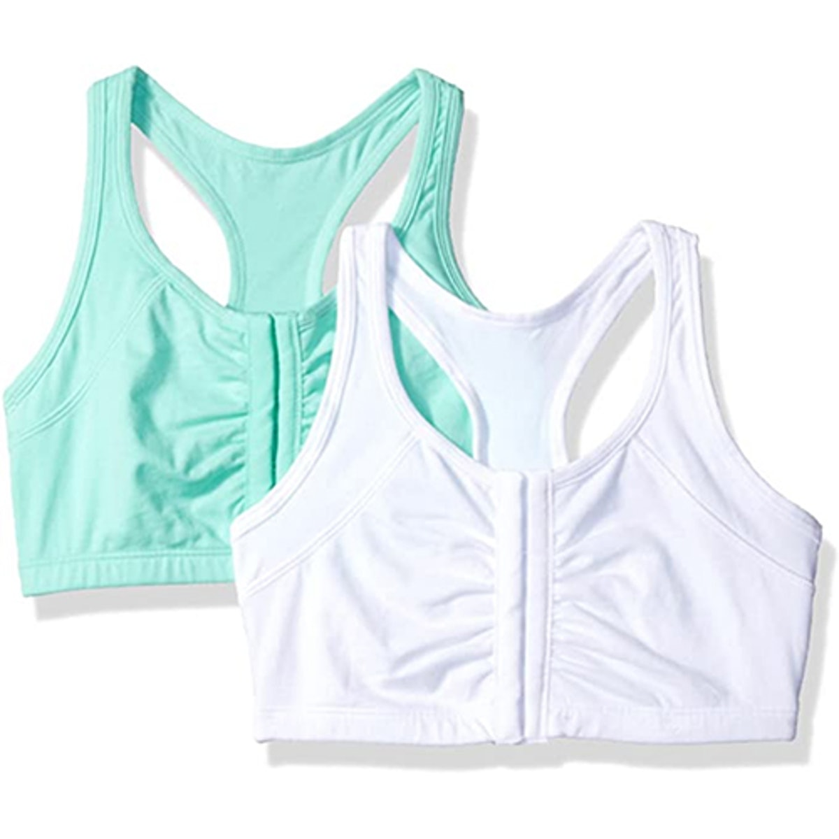 Fruit of the Loom Front Close Racerback Bra (2-Pack)