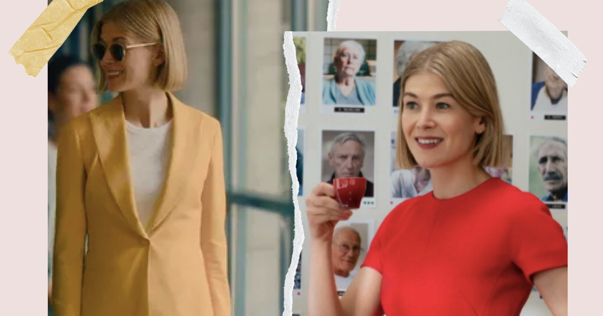'I Care A Lot's Greatest Weapon Is Rosamund Pike's Wardrobe